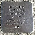 Stolperstein Windeck Dattenfeld Hauptstraße Irma Simon.jpg