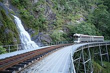 Cairns-to-Kuranda railway line - Wikipedia