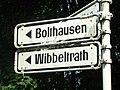 Straßenschild Bolthausen Wibbelrath.jpg