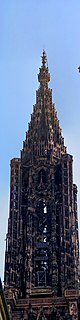 Strasbourg - Place Gutenberg - View on Cathedral I.jpg