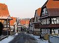 Strasse mit Fachwerkhaeusern in Ingolsheim fcm.jpg