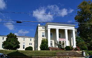 Stuart Hall School - Image: Stuart Hall (Old Main) Staunton VA
