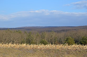 Wells Township, Fulton County, Pennsylvania - Along Pennsylvania Route 915 in the township's south