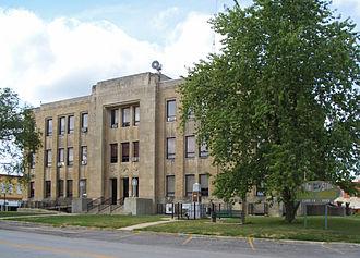 Milan, Missouri - Sullivan County courthouse in Milan, Missouri