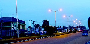 Summit road, Asaba