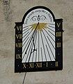 Sundial, East Bergholt church porch - geograph.org.uk - 1481490.jpg