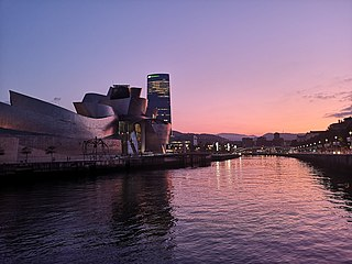 Sunset NEAR BILBAO'S GUGGENHEIM.jpg