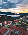 Sunset at Shimla over the mountains.jpg