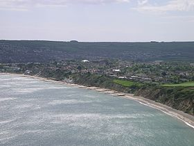 Swanage, vue de Ballard Down