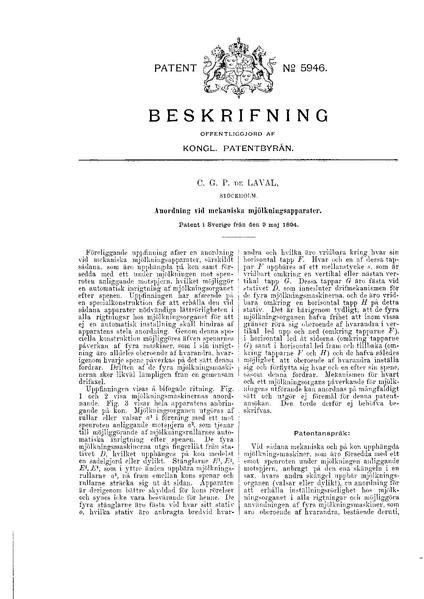 File:Swedish patent 5946 Anordning vid mekaniska mjölkningsapparater.pdf