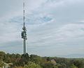 Swisscom-Sendeturm St. Chrischona communications tower near Basel, Switzerland.jpg