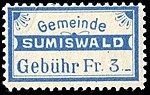Switzerland Sumiswald 1916 revenue 3Fr 25B.jpg