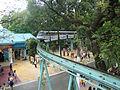 Tàu điện trên không, Công viên Đầm Sen.JPG