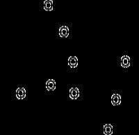 Strukturformel des T-2-Toxin