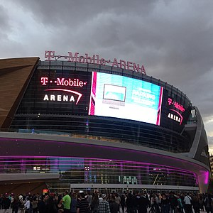 Paradise, Nevada - T-Mobile Arena in Paradise