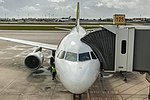 TAP A320 resting at Lisbon Airport (47518169552).jpg
