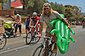 TDU Fans Head Up Willunga Hill (15905709684).jpg