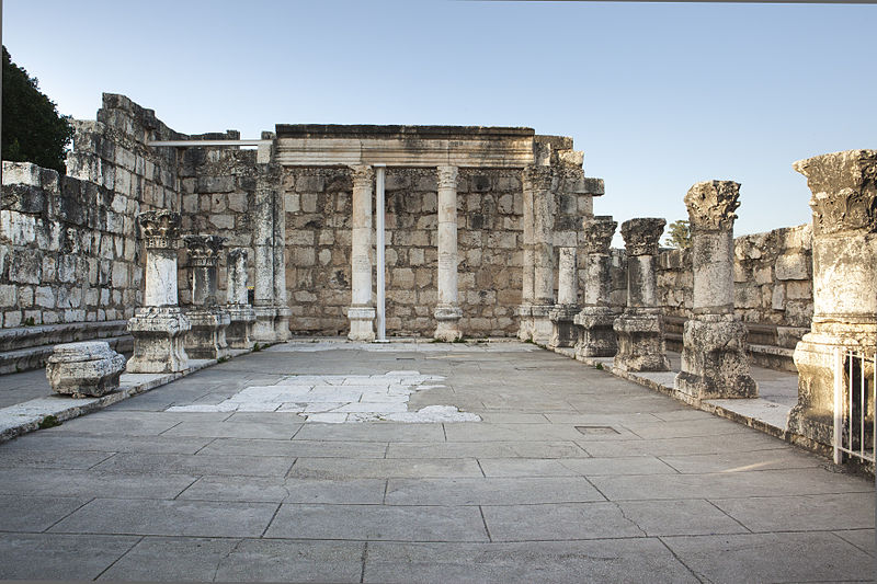 File:THE ANCIENT SYNAGOGUE IN CAPERNAUM IMG 2931 ITAMAR GRINBERG IMOT (14475139241).jpg