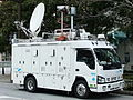 TV asahi, M02 Outside broadcasting van, ISUZU ELF 5th Gen,.jpg