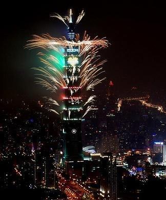 Taipei101fireworks