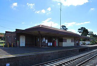Tallarook railway station