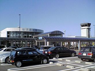 New Tanegashima Airport - Image: Tanenewair