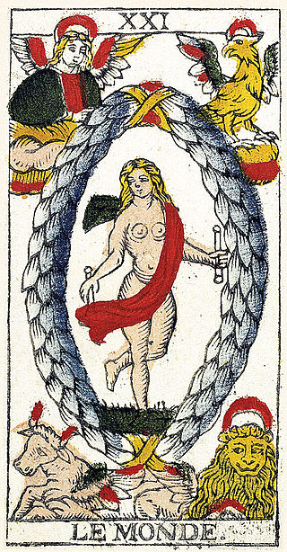 Trump 21 World Depicted As Greek Deity Gaia From: 5 Things You Probably Didn't Know About Tarot Cards