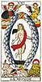 Tarot de Marseille 1709 Pierre Madenie Le Monde Trump 21.jpg
