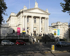 Tate Britain gallery which houses works by Don...