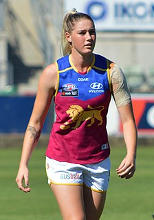 Tayla Harris Australian rules footballer