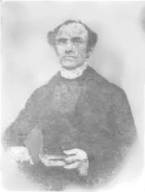 Enrico Tazzoli (priest) - Photograph of Tazzoli taken around 1850