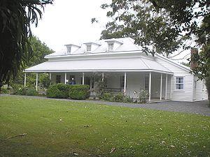 Te Waimate mission - George Clarke's house