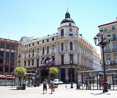 C mo llegar a plaza de jacinto benavente en madrid en for Como llegar a getafe