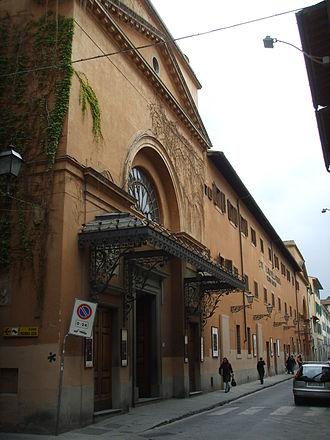 Teatro della Pergola - Exterior of the Teatro della Pergola