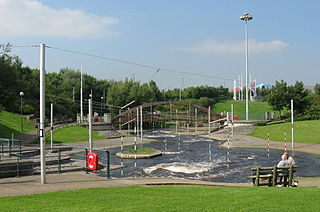 Tees Barrage International White Water Course White water sports venue in Stockton-on-Tees, England