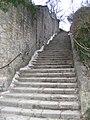 Tellsteige Würzburg - Treppe, bergan.JPG