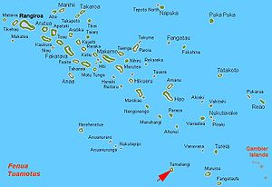 French Polynesia Islands On World Map