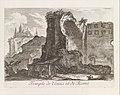 Temple de Venus et de Rome, from Les Plus Beaux Monuments de Rome Ancienne ou Recueil des plus beaux Morceaux de l'Antiquité Romaine qui existent encore MET DP341370.jpg