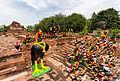 Templo Thammikarat, Ayutthaya, Tailandia, 2013-08-23, DD 03.jpg