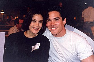 Dean Cain - Cain and Teri Hatcher at the 1993 Emmy Awards.