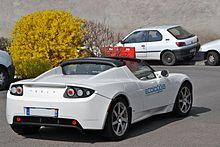 Tesla Roadster France