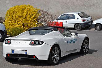 Tesla Roadster (2008) - Tesla Roadster (France)