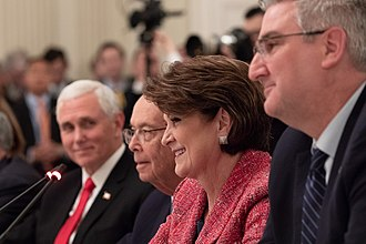 Marillyn Hewson - Hewson participates on a White House panel discussing workforce development