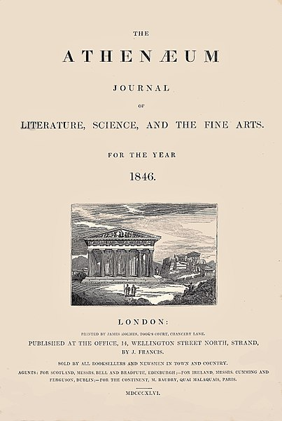 File:The Athenaeum 1846 issue.jpg