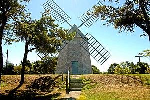 Benjamin Godfrey -  Godfrey Windmill, aka the Chatham Windmill