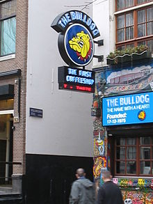 Bulldog Coffee Shop In Astmredam