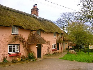 Alvediston village in the United Kingdom