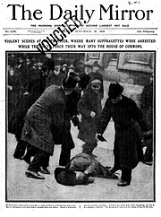The Daily Mirror, 19 November 1910, front page.jpg