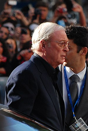 Michael Caine at the European premiere of The ...