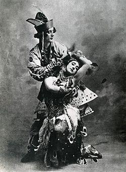The Firebird 1910 Tamara Karsavina & Michel Fokine.jpg